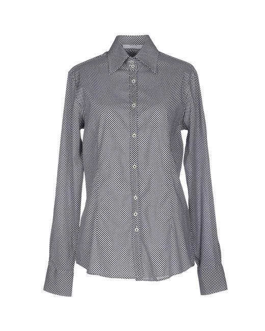 Aglini   Black Shirt   Lyst