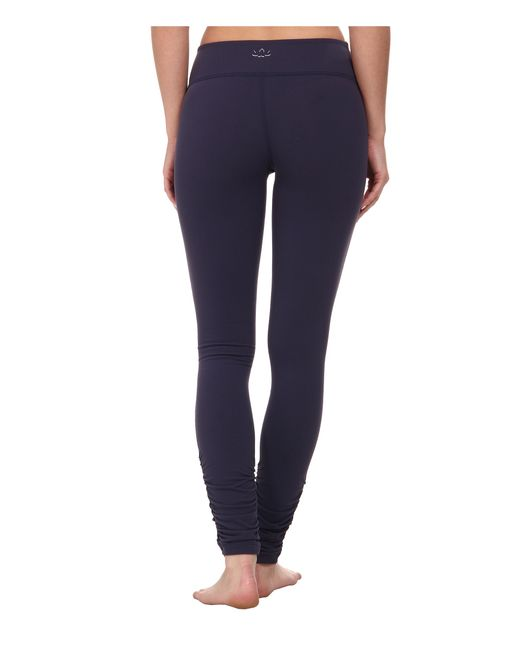 Beyond Yoga | Blue Gathered Long Leggings | Lyst