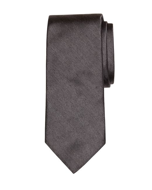 Brooks Brothers | Gray Heathered Herringbone Tie for Men | Lyst