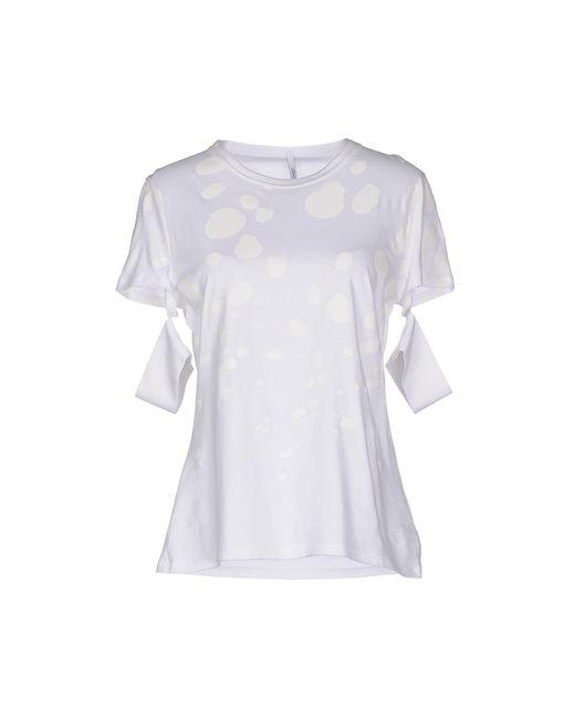 Neil Barrett | White T-shirt | Lyst