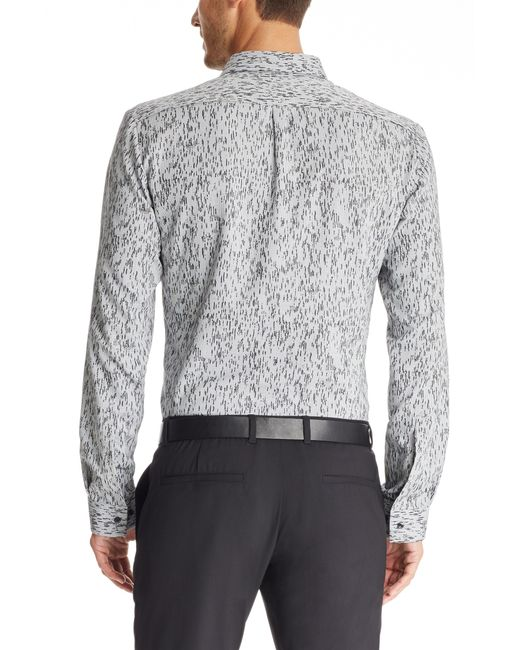 HUGO | Black 'ero' | Slim Fit, Cotton Button Down Shirt for Men | Lyst