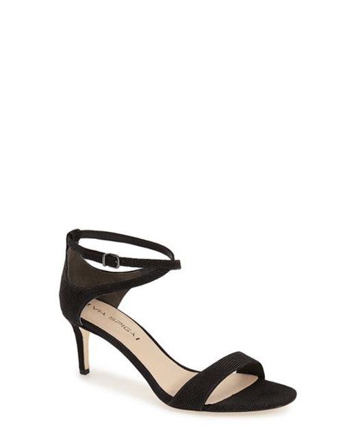 Via Spiga | Metallic 'leesa' Sandal | Lyst
