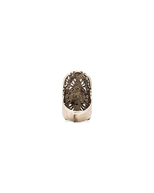 Natalie B. Jewelry | Metallic Get Laced Ring | Lyst