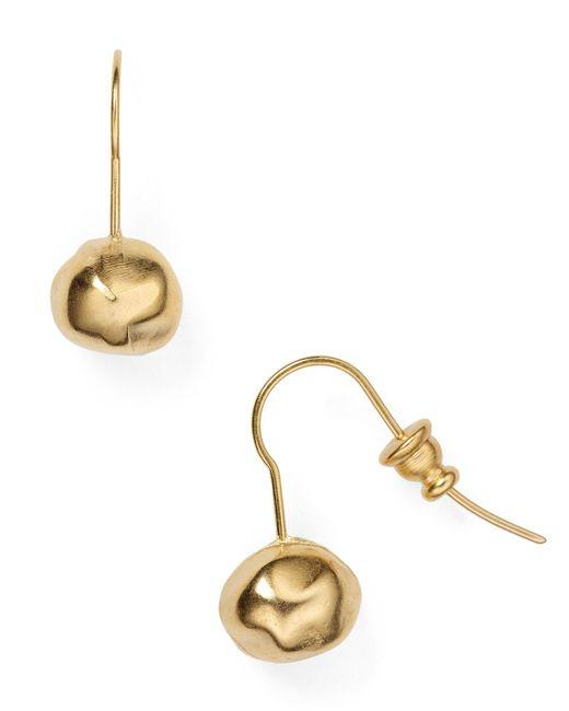 Uno De 50 | Metallic Cherry Drop Earrings | Lyst
