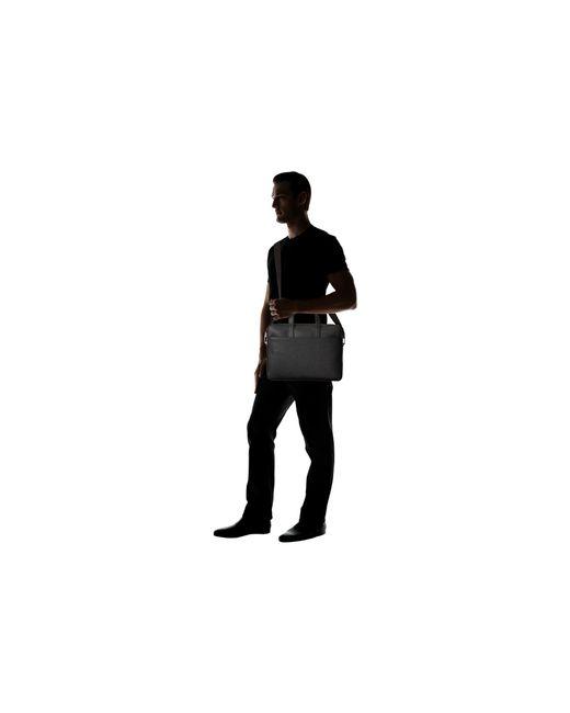 Jack Spade | Black Barrow Leather Slim Brief for Men | Lyst