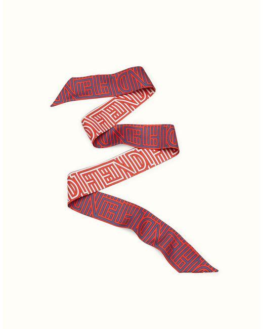 Fendi | Red Optical Wrappy Optical Wrappy | Lyst