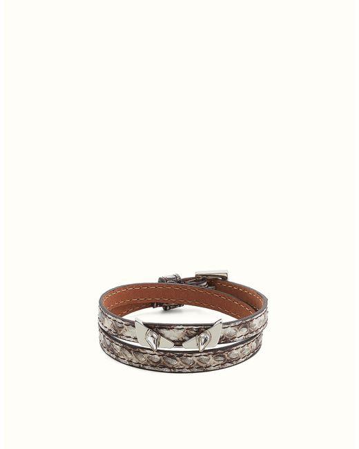 Fendi | Black Bracelet | Lyst