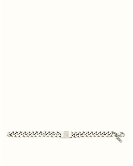 Fendi   Gray Bracelet Bracelet for Men   Lyst