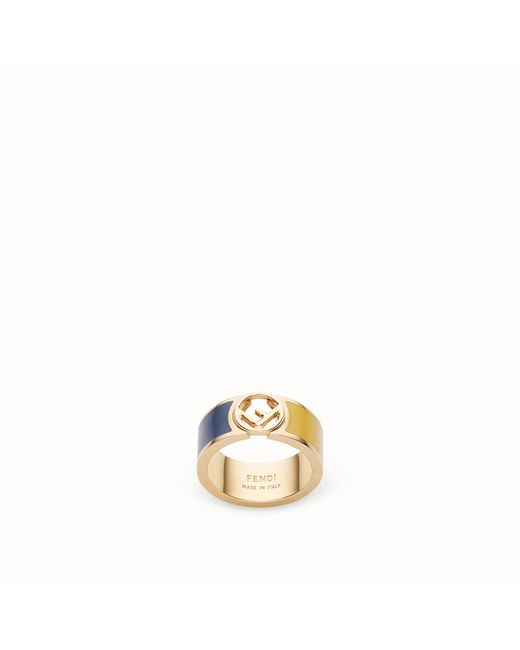 Fendi - Metallic F Is Ring - Lyst