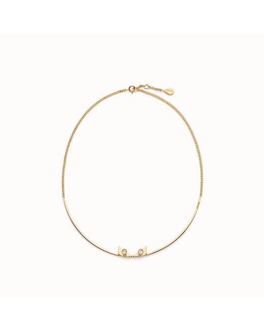 Fendi - Multicolor Crystal Wonders Necklace - Lyst