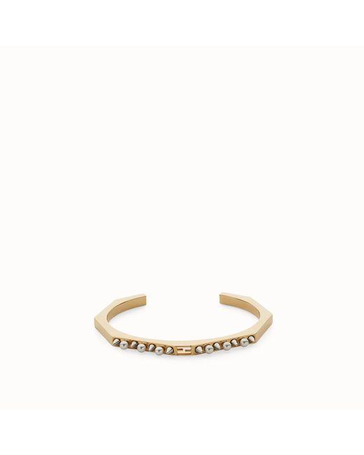 Fendi - Metallic Baguette Bracelet Baguette Bracelet - Lyst