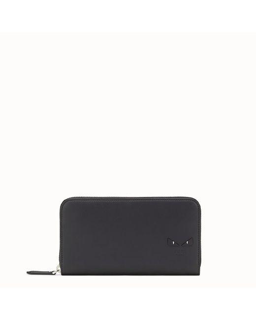 Fendi - Black Wallet Wallet for Men - Lyst