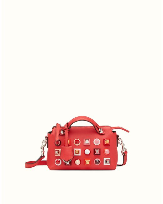 Fendi | Red Mini By The Way Mini By The Way | Lyst