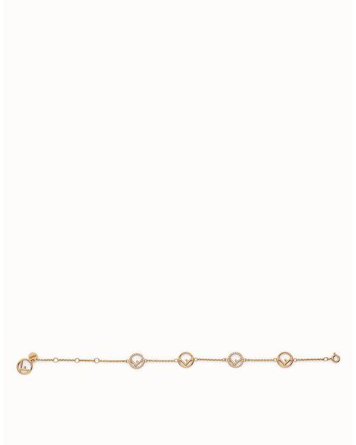 Fendi | Metallic Bracelet Bracelet | Lyst