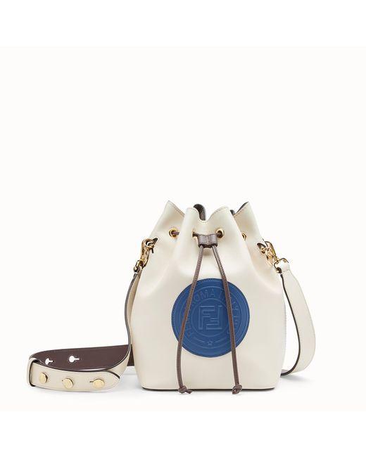 Fendi - White Mon Tresor Bucket Bag - Lyst