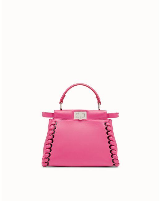 Fendi - Pink Peekaboo Mini - Lyst