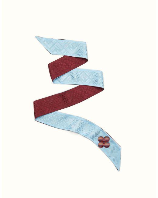 Fendi | Blue Color-block Wrappy Color-block Wrappy | Lyst