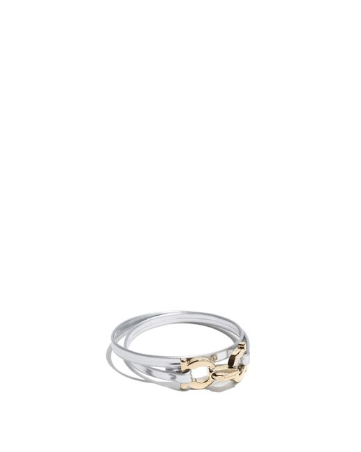 Ferragamo - Metallic Vara Bracelet - Lyst