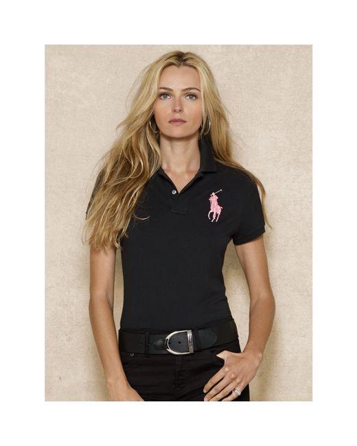 Pink Pony | Black Pink Pony Skinny-fit Polo | Lyst