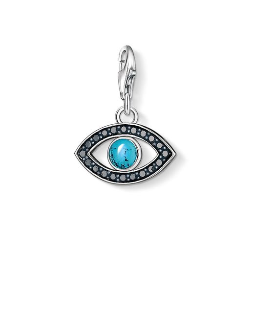 Thomas Sabo | Blue Charm Club Turkish Eye Pendant | Lyst