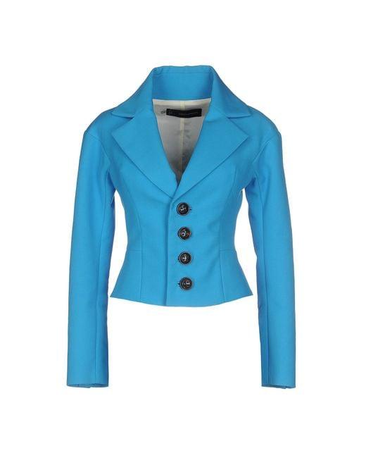 DSquared² | Blue Blazer | Lyst