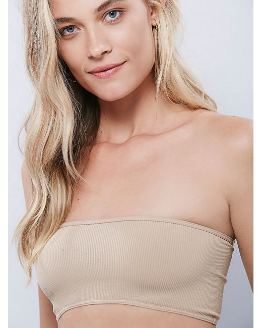 Free People | Natural Basic Seamless Bandeau | Lyst