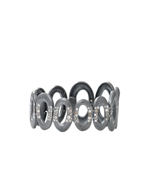Todd Reed | Metallic Diamond Oval Link Bracelet | Lyst