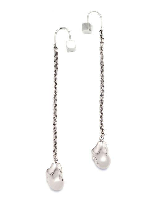 Caterina Zangrando | Metallic Nana Palladium Earrings | Lyst
