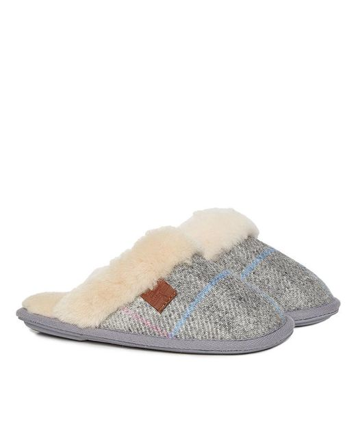 Bedroom Athletics - Gray Kate Harris Tweed Mule Slipper - Lyst