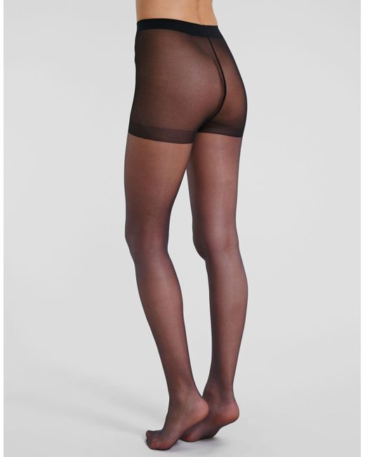 499999a0826 Charnos - Black 10 Denier Elegance Ultra Sheer Tights - Lyst ...