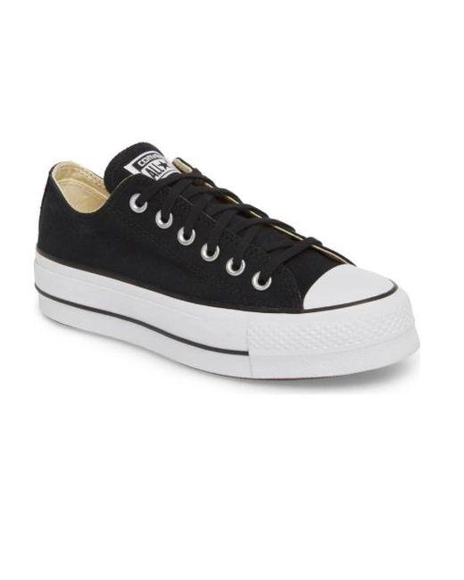 Lyst - Converse Women Chuck Taylor All Star Lift Platform Shoes ... 8dcfc5682