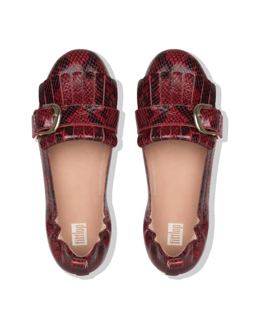 3dc45e428c43 ... Fitflop - Red Allegro - Lyst