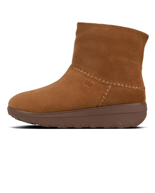 bcf4ebf6f808a2 ... Fitflop - Brown Mukluk Shorty Ii - Lyst ...