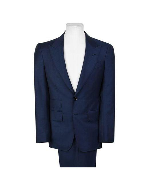 Tom Ford Blue Shelton Suit for men