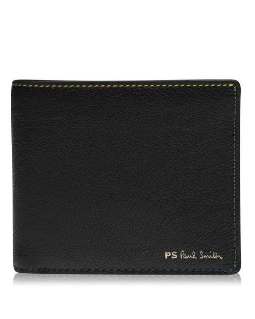 Paul Smith Black Denim Card Holder for men