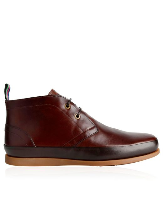 PS by Paul Smith - Brown Chukka Boots for Men - Lyst