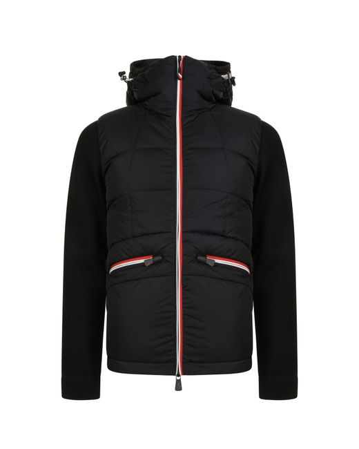 772d953ea1fe ... switzerland moncler grenoble black quilted neo jacket for men lyst  4cae9 844c1