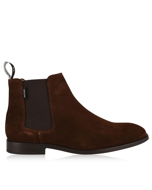PS by Paul Smith - Brown Gerald Chelsea Boots for Men - Lyst