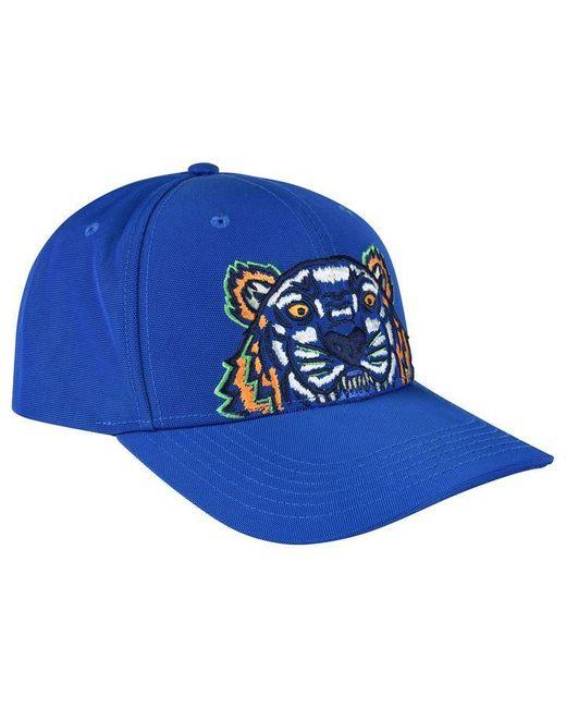 KENZO - Blue Tiger Cap for Men - Lyst