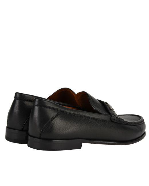b724567c2da ... Ermenegildo Zegna - Black X Loafers for Men - Lyst ...