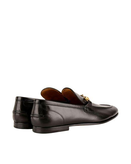 d5be240ddbb ... Gucci - Black Jordan Loafers for Men - Lyst ...