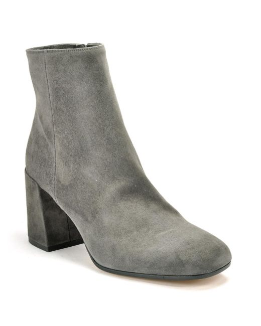 Vince | Gray Suede Ankle Boot | Lyst