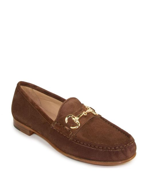 275 Central - Brown Buckled Loafer - Lyst