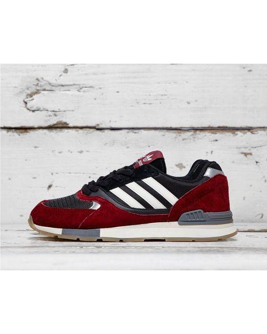 025909e80e2 Adidas Originals - Red Quesence for Men - Lyst ...