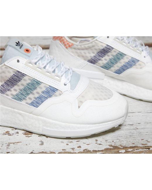 cac5e73460f0b ... Adidas Originals - White X Commonwealth Zx 500 Rm for Men - Lyst ...