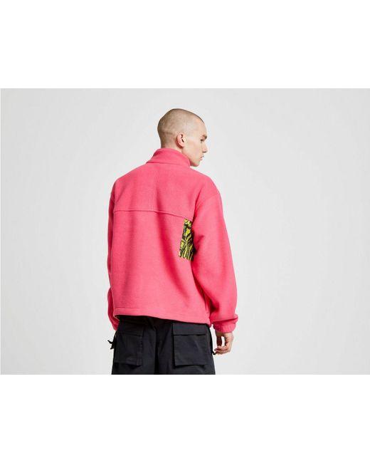 a7121dbfa93e ... Nike - Pink Acg Full Zip Fleece Jacket for Men - Lyst ...