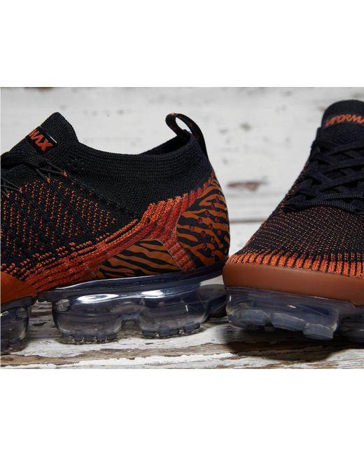b2227378876de ... Nike - Orange Air Vapormax Flyknit 2 for Men - Lyst ...