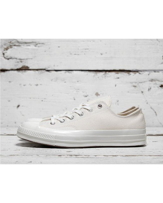 87013a244e173f Lyst - Converse Chuck Taylor All Star 70 s Low in White