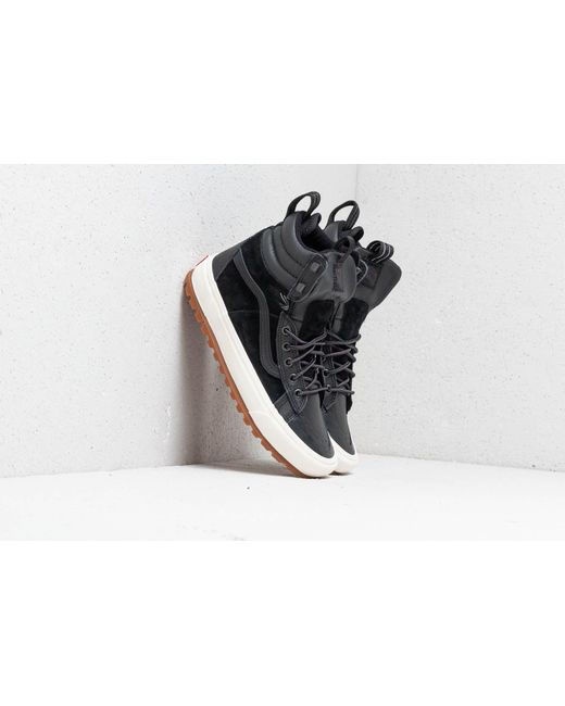 5d916ddc6a4dad Lyst - Vans Sk8-hi Boot Mte D Black  Marshmallow in Black for Men