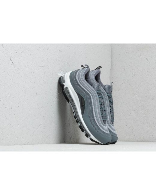 Men's Gray Air Max 97 Essential Cool Grey Wolf Grey anthracite white